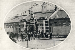 Opening of Fitzroy Pool, Alexander Parade, Fitzroy 1908