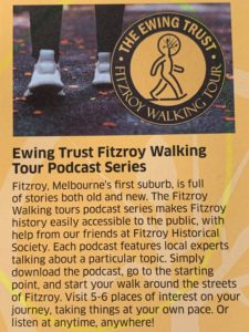 Ewing Trust - Fitzroy Walking Tours - PODCAST Series