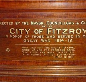 Fitzroy WW1 Soldiers