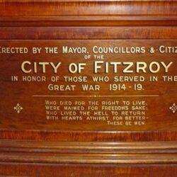 WW1 Honour Board - City of Fitzroy