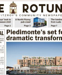 North Fitzroy's new and free community newspaper - The Rotunda.