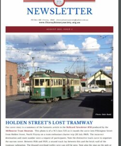 New FHS Newsletter is now available - August 2021